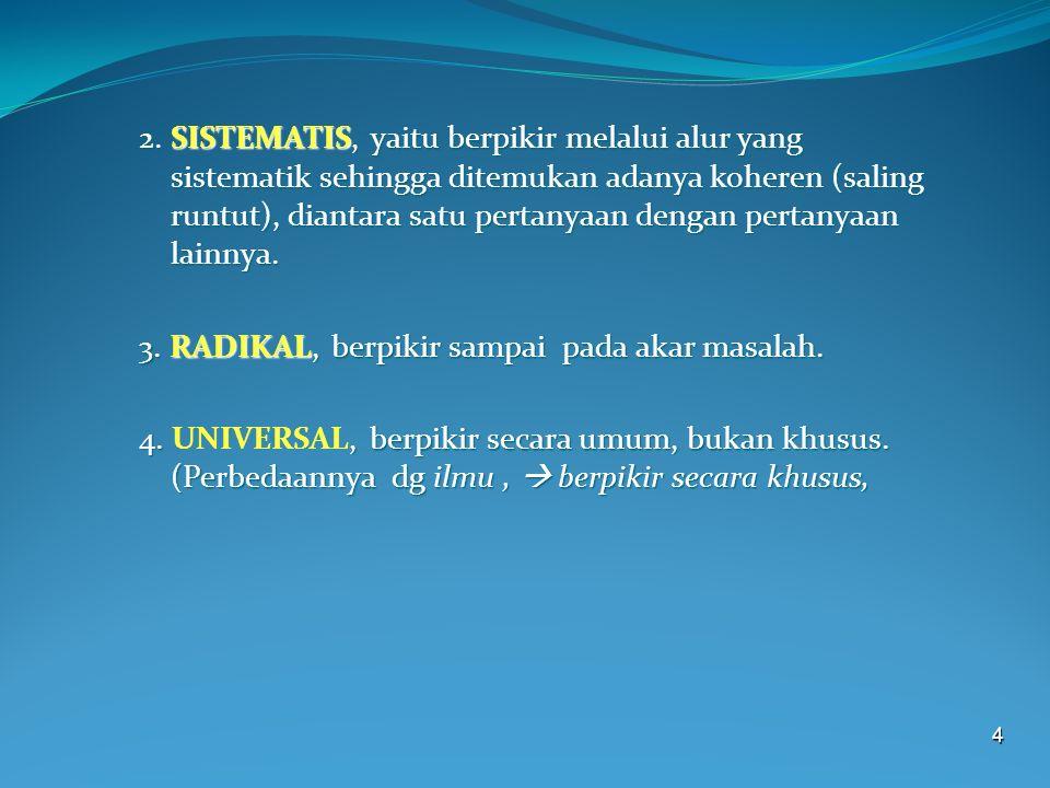 5 APA YANG MENYEBABKAN LAHIRNYA FILSAFAT.1.