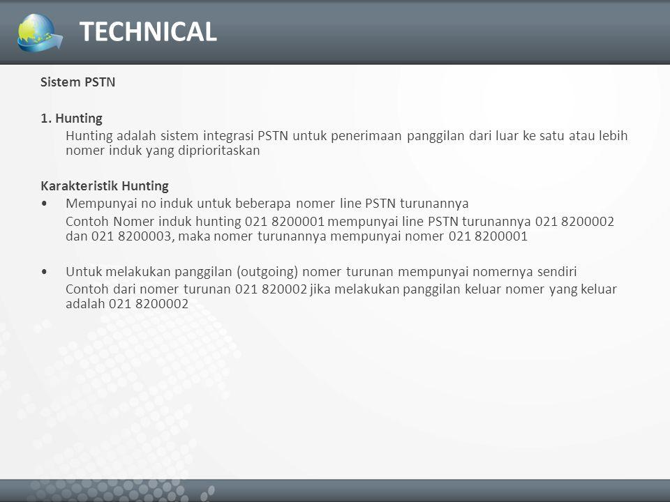 TECHNICAL Sistem PSTN 1.