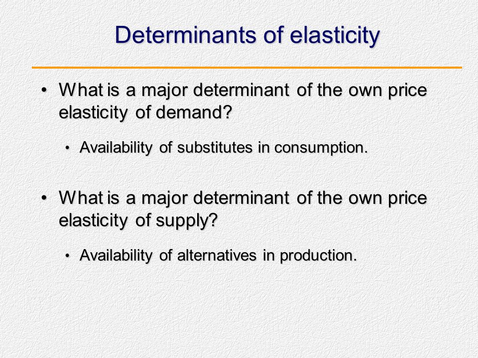 Perfectly Inelastic Supply We say that supply is perfectly inelastic when a 1% change in the price would result in no change in quantity supplied.We s