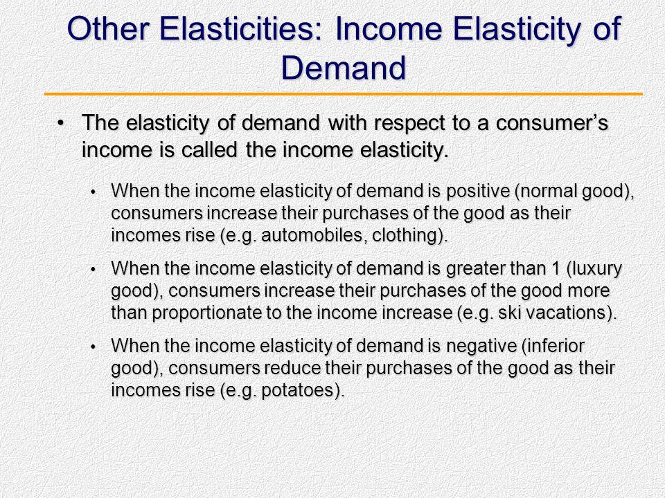 Elastisitas Silang Kecenderungan perubahan permintaan suatu barang disebabkan terjadi perubahan harga barang lain.Kecenderungan perubahan permintaan s