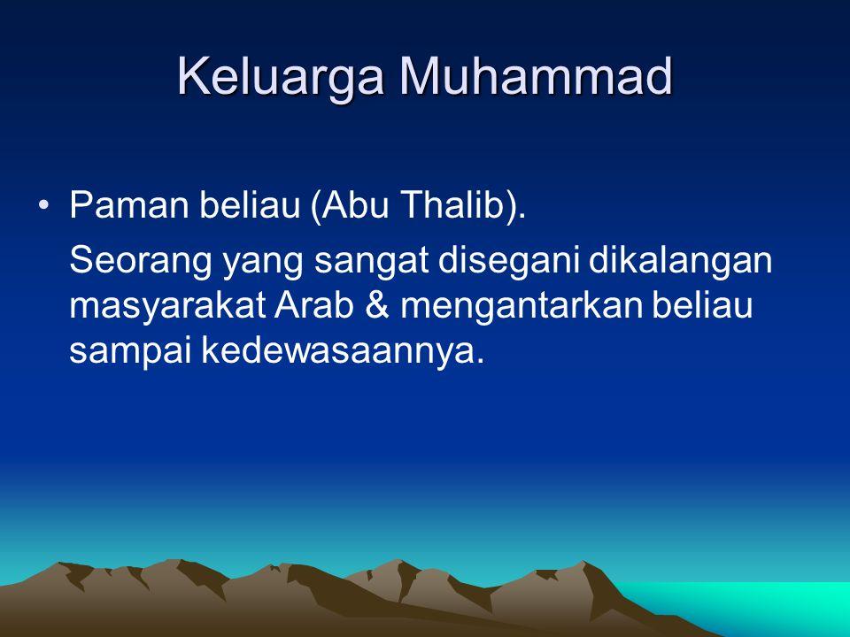 Keluarga Muhammad Paman beliau (Abu Thalib).