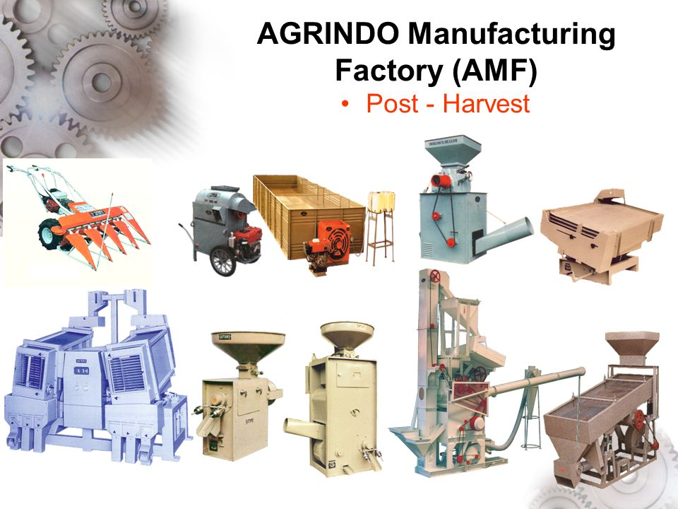 AGRINDO Manufacturing Factory (AMF) Post - Harvest