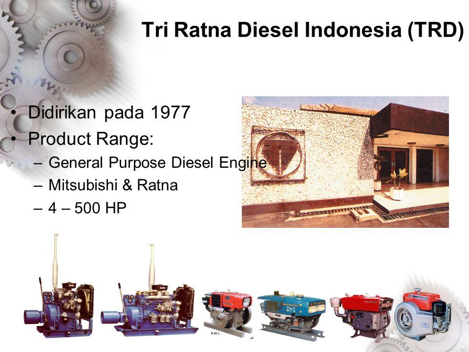 Didirikan pada 1990 Produk: Welder, Generator, Diesel Generating Set, & Automatic Panel TAIYO Electric Indonesia (ATI)