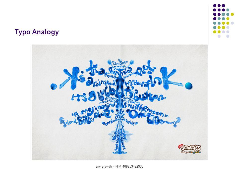 eny erawati - NIM 409253422930 Typo Analogy