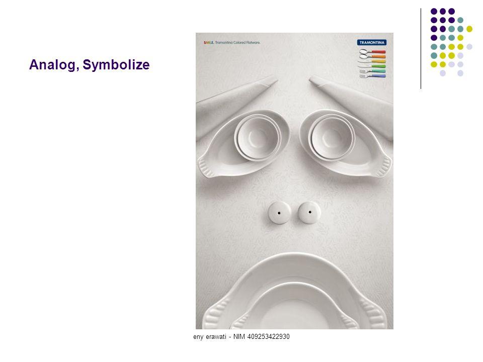 eny erawati - NIM 409253422930 Analog, Symbolize
