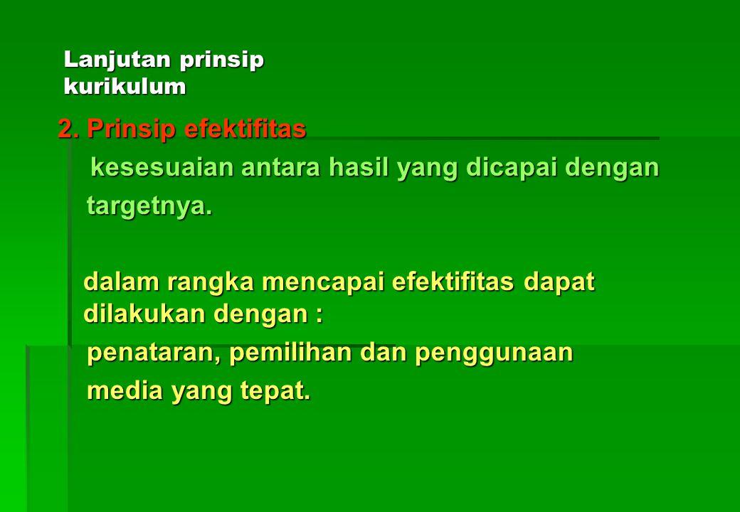 D.PRINSIP KURIKULUM 1.