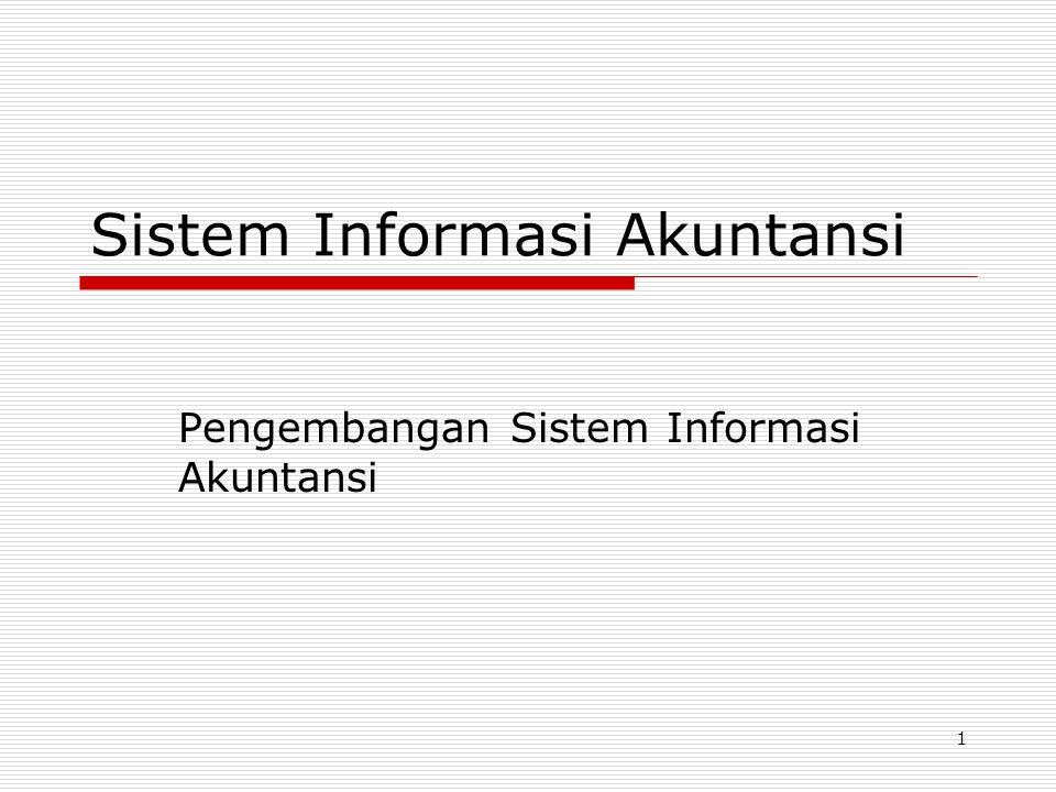 1 Sistem Informasi Akuntansi Pengembangan Sistem Informasi Akuntansi