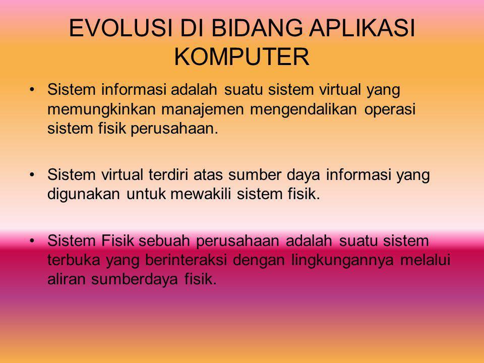 SISTEM PEMROSESAN TRANSAKSI Sistem Virtual adalah kombinasi dari proses manual, mesin-mesin pembukuan yang digerakkan oleh kunci, dan sistem kartu berlubang yang memproses data perusahaan.