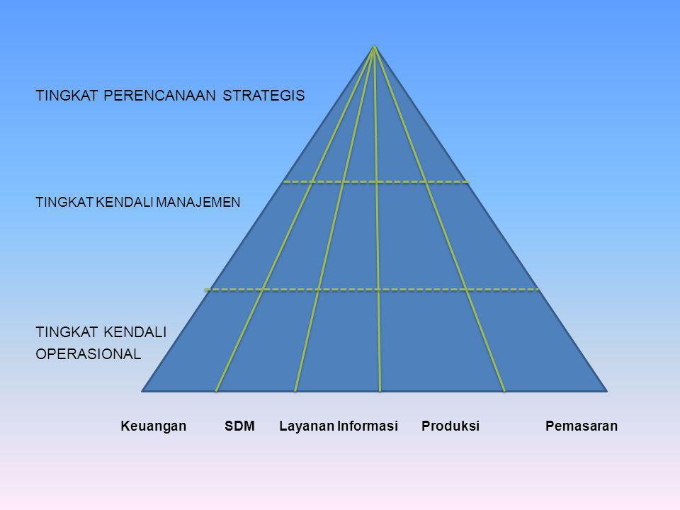 Tingkat perencanaan strategis