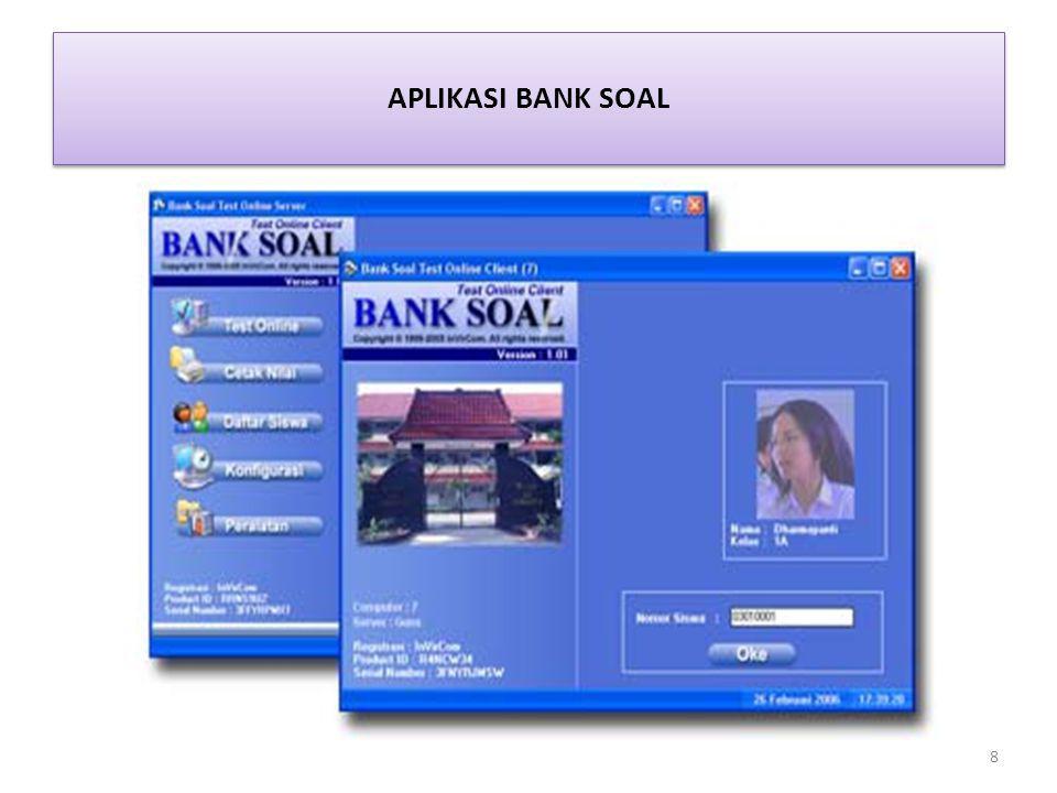 APLIKASI BANK SOAL 8