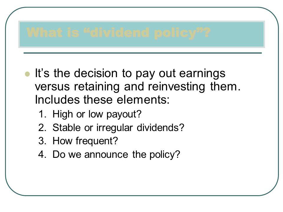 Rencana mana yg menarik bagi dividen? Langkah 1: Hitung Dividen Stream