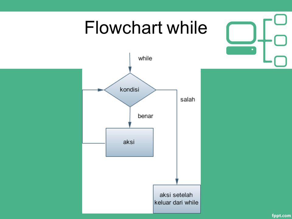 Flowchart while
