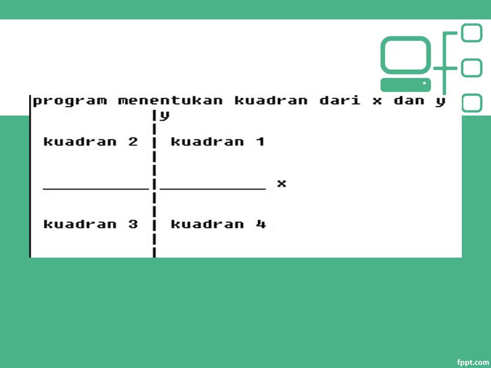 break : contoh 1 Menuliskan angka sebanyak n/2 kali. (n input dari user) 34