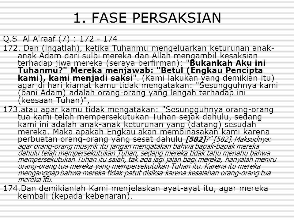 Q.S AL BAQARAH (2):286 Allah tidak membebani (Laa yukallifullah) seseorang melainkan sesuai dengan kesanggupannya.