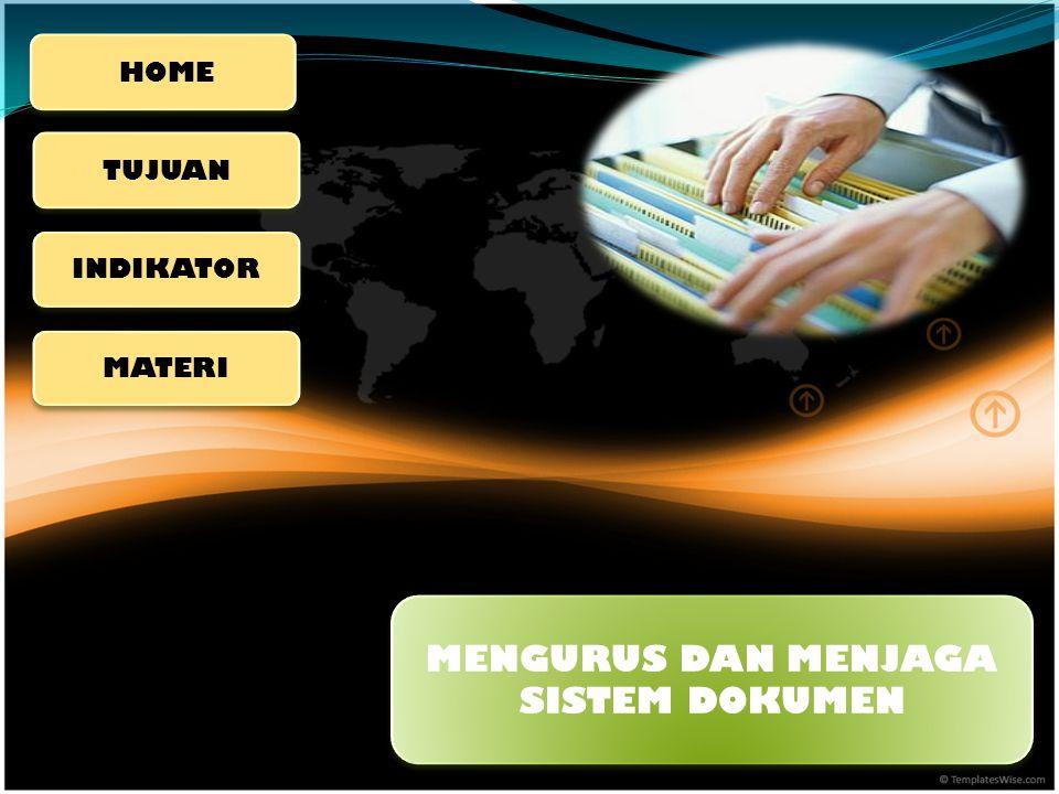 Tujuan akhir pembelajaran Kompetensi Dasar 3 Mengurus dan Menjaga Dokumen adalah, Peserta didik dapat mengindeks nama orang dan perusahaan sesuai peraturan yang berlaku.
