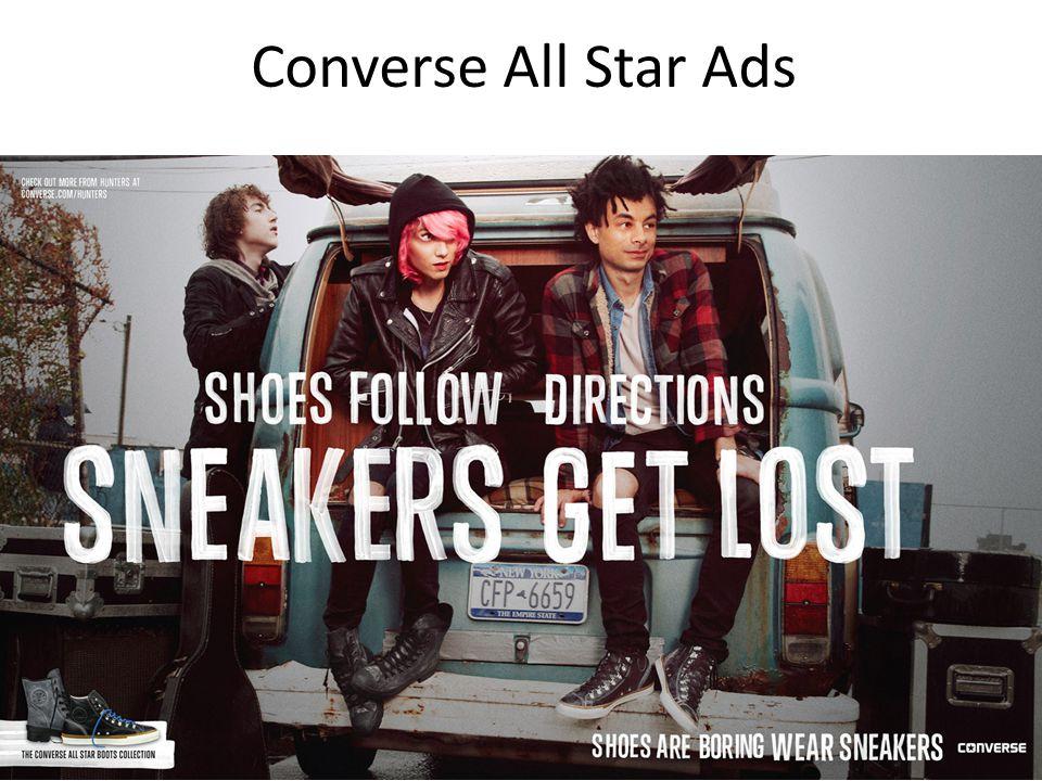 Converse All Star Ads