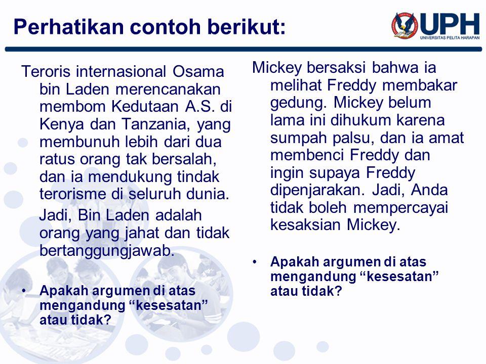 Teroris internasional Osama bin Laden merencanakan membom Kedutaan A.S. di Kenya dan Tanzania, yang membunuh lebih dari dua ratus orang tak bersalah,