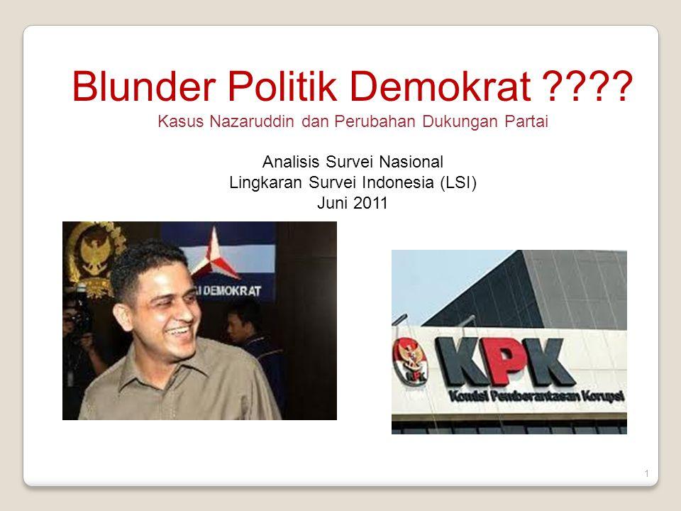 2 Blunder Politik Demokrat.