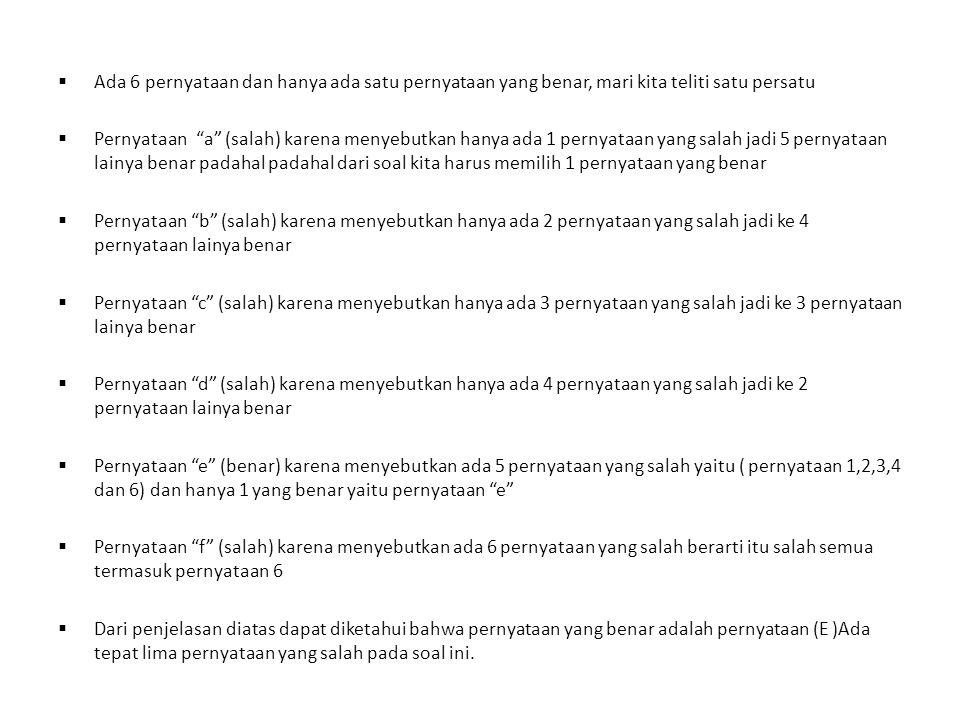 11 Soal Latihan Chandra dan Dewi mempunyai kebiasaan unik.