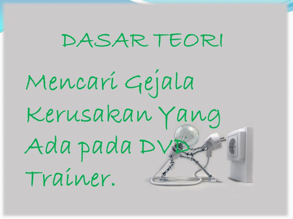ALAT DAN BAHAN DVD Trainer Dan TV Trainer