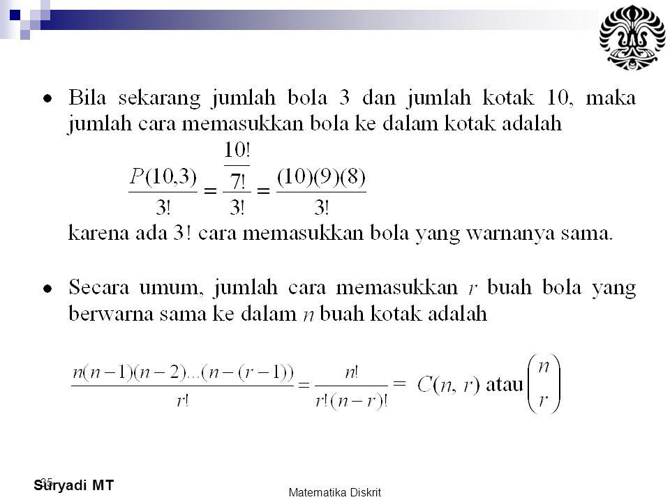 Suryadi MT 35 Matematika Diskrit