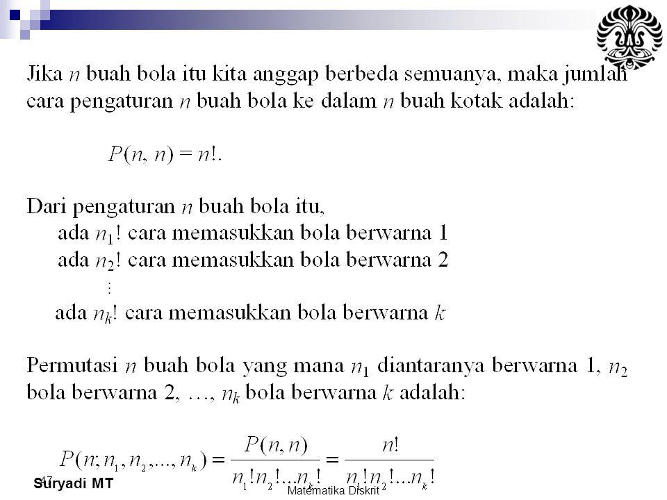 Suryadi MT 47 Matematika Diskrit