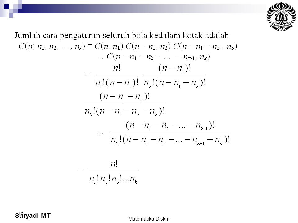 Suryadi MT 48 Matematika Diskrit