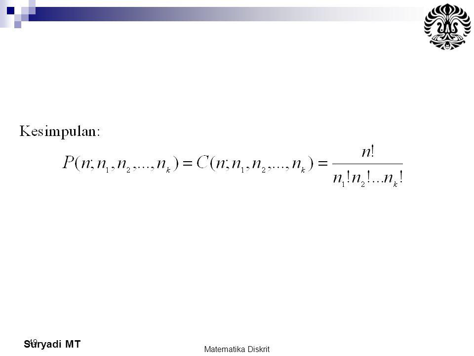 Suryadi MT 49 Matematika Diskrit