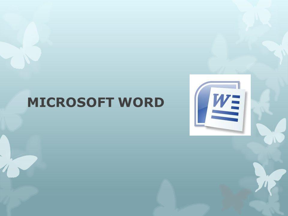 Apa itu Microsoft Word??.
