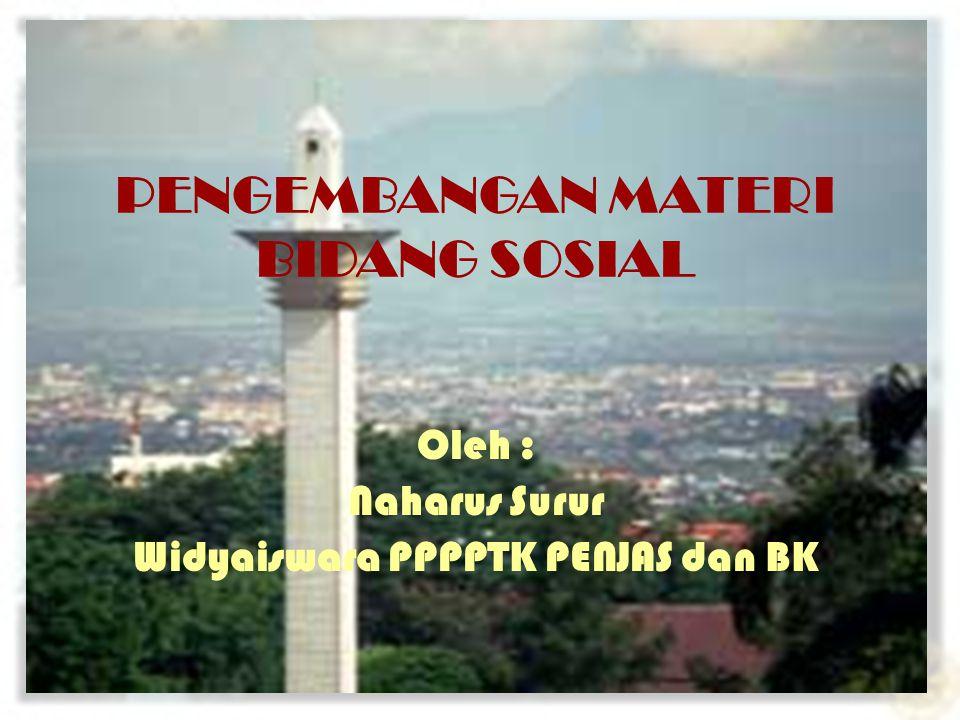 2 BIODATA Naharus Surur Widyaiswara PPPG Keguruan Jakarta (P4TK Penjas & BK) Jl.
