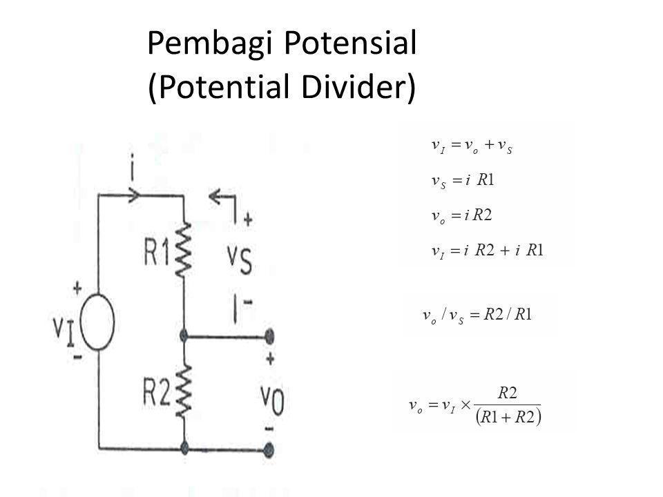 Pembagi Potensial (Potential Divider)