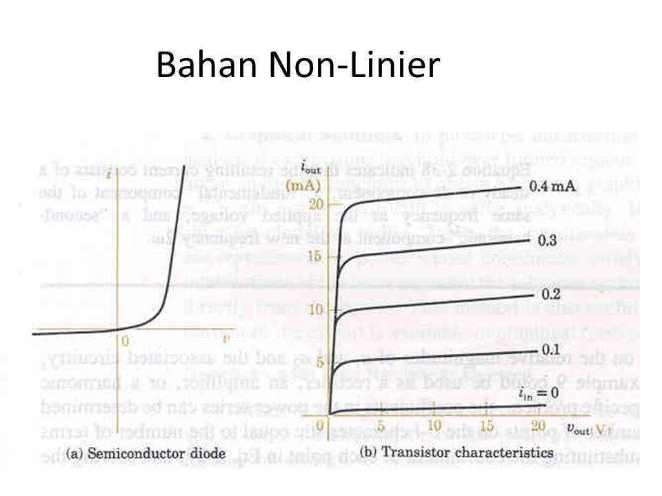 Power (Daya): energi yang diberikan pada elektron tiap satuan waktu P = v dq/dt = v I 1 watt = 1 volt x 1 A Contoh Daya : Generator : 300 MW Radiator : 1000 W Lampu Senter : 6 W Jam Tangan : 10 mikroW