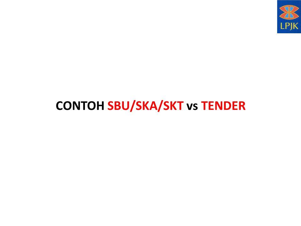 CONTOH SBU/SKA/SKT vs TENDER
