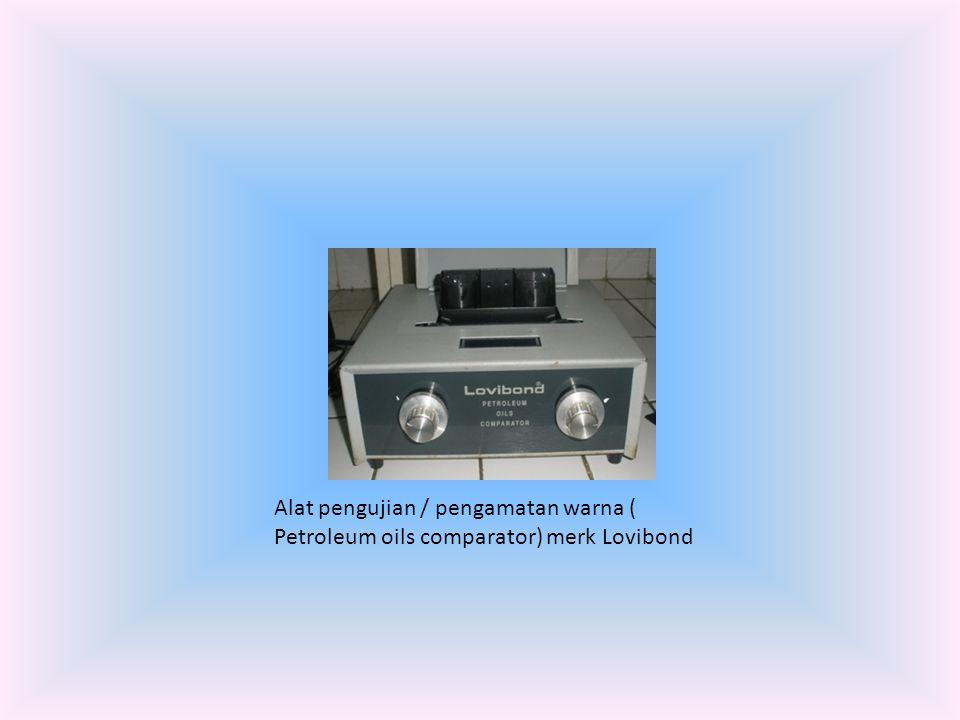 Alat pengujian / pengamatan warna ( Petroleum oils comparator) merk Lovibond