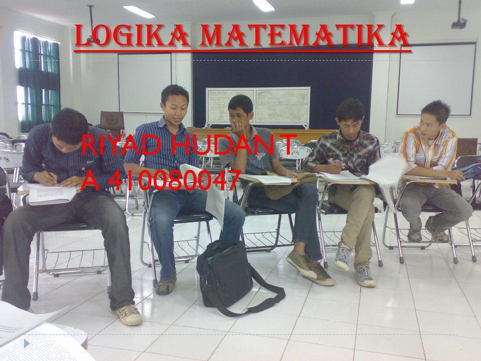 3.Diketahui : p : Firman gemar Matematika.q : Firman gemar main bola.