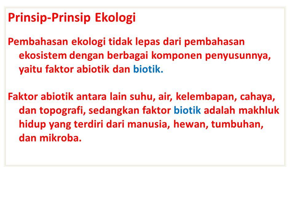 2.Berdasarkan kebiasaan hidup, organisme dibedakan : a.