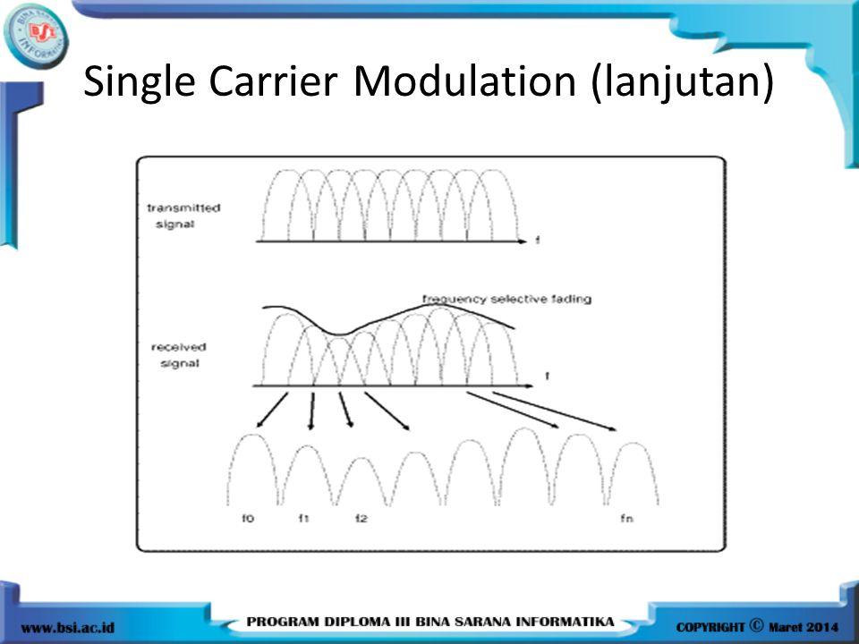 Single Carrier Modulation (lanjutan)
