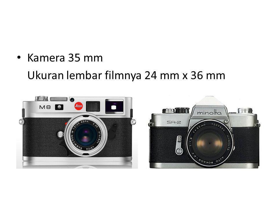 Digital Format filmnya berupa sensor