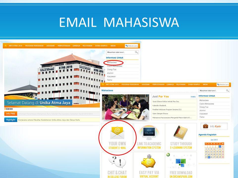 EMAIL MAHASISWA