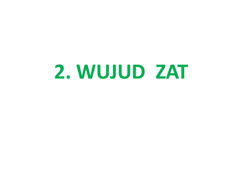 2. WUJUD ZAT