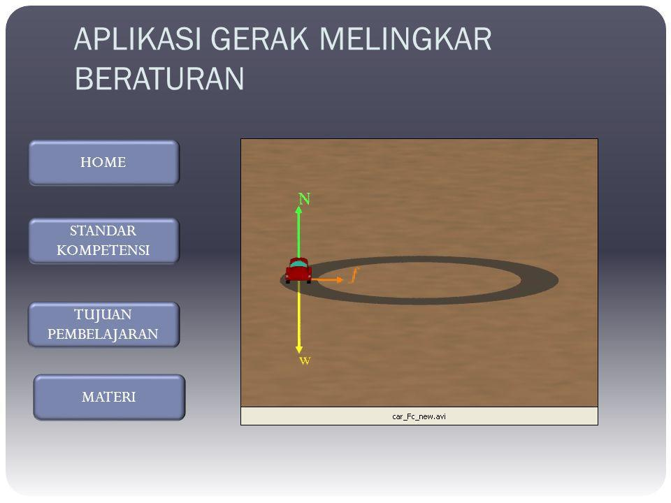 KECEPATAN SUDUT ( ω ) : Besarnya sudut yang telah ditempuh dalam selang waktu tertentu ω = ω = 2 Л /T ω = kecepatan sudut (rad/s) T = periode (s)