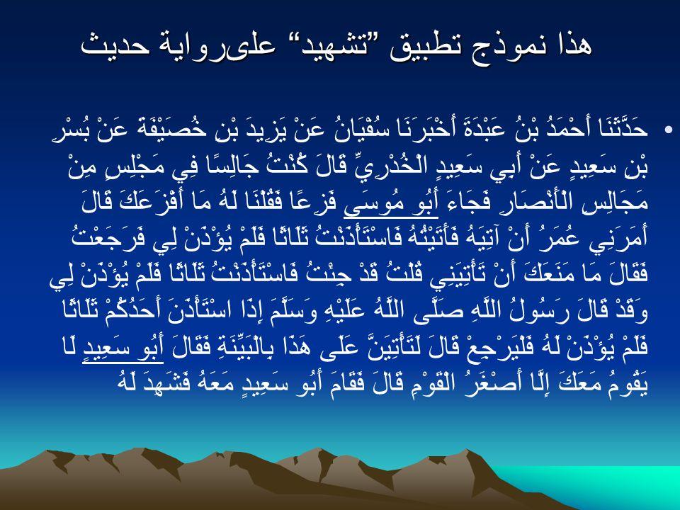 Ilmu hadits pada Masa Sahabat Ilmu kritik sanad pada masa Sahabat Ilmu kritik sanad pada masa Sahabat –Abu Bakar saksi –Umar bin Khottob –Utsman bin A