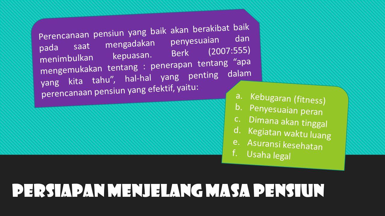 Training Purna Bhakti Persiapan Pensiun Jakarta