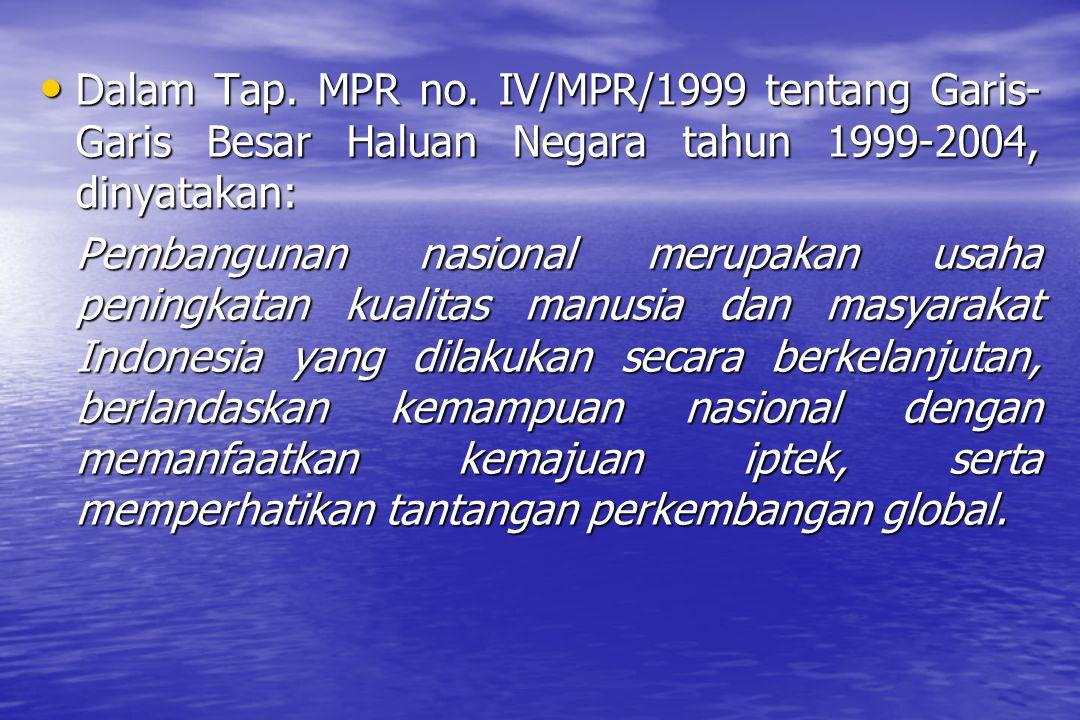 Dalam Tap.MPR no.