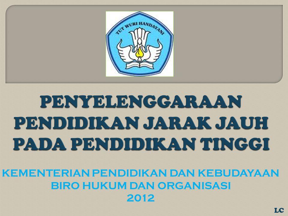 KEMENTERIAN PENDIDIKAN DAN KEBUDAYAAN BIRO HUKUM DAN ORGANISASI 2012 LC