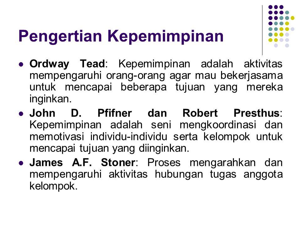 Perspektif Teoritis tentang Kepemimpinan Oleh Akhmad Munjin