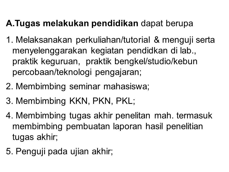 6.Membina kegiatan mahasiswa di bidang akademik dan kemahasiswaan; 6.