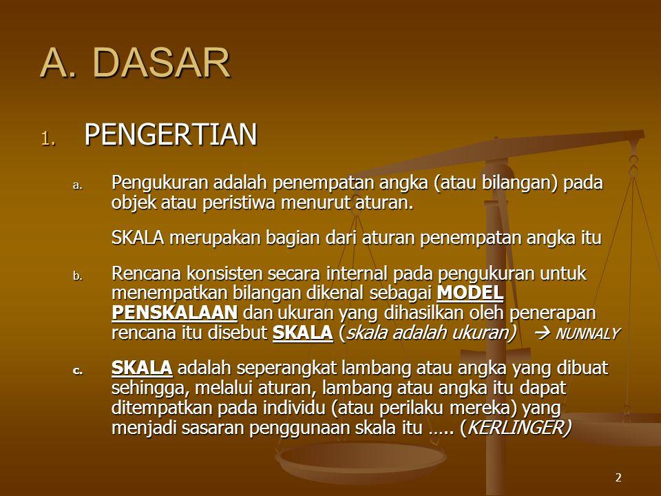 2 A.DASAR 1.PENGERTIAN a.