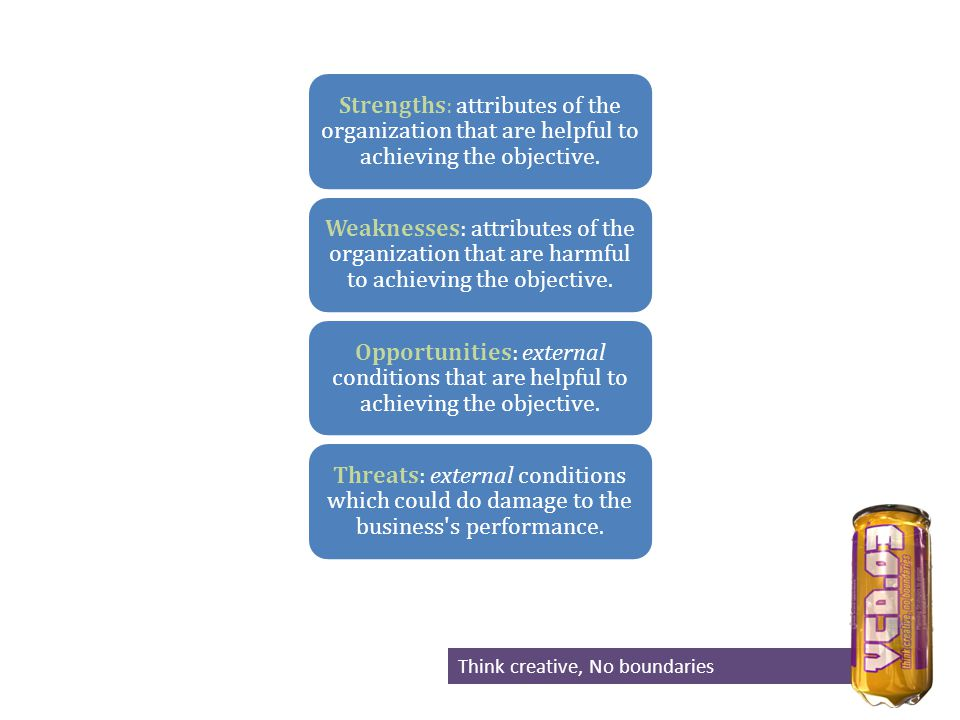BRAND ESSENCE FUNCTION PERSONALITY DIFFERENTIATION SOURCE OF AUTHORITY Think creative, No boundaries