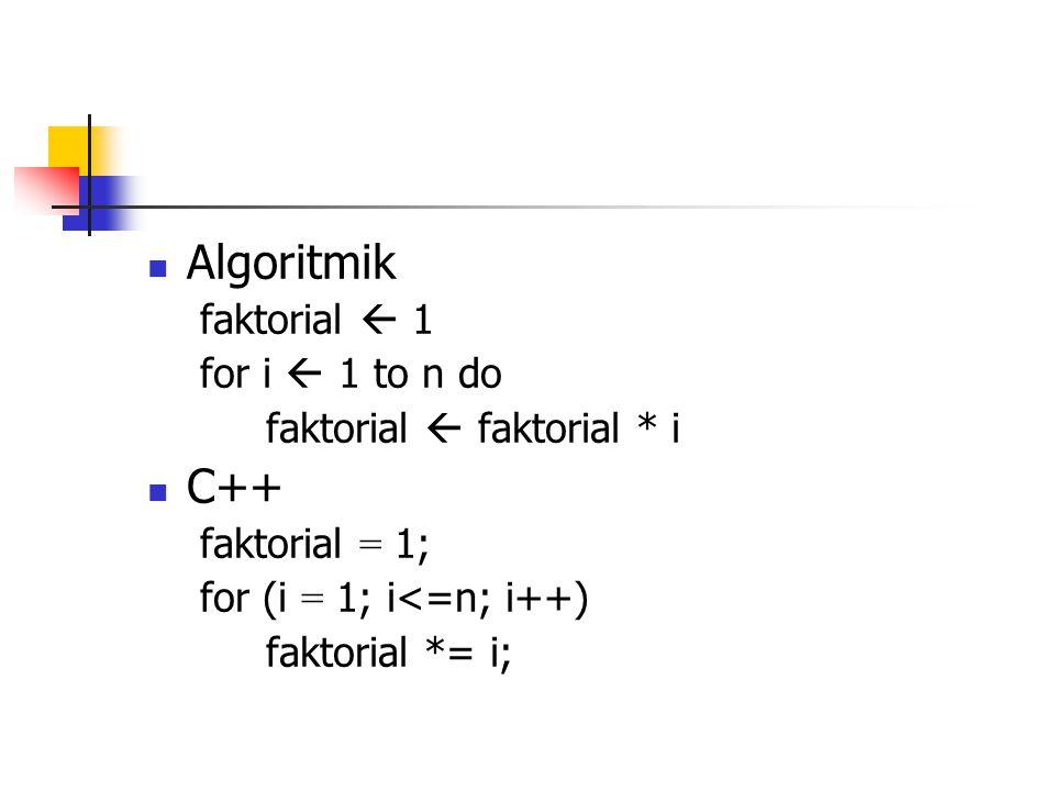 Bilangan Fibonacci Bilangan Fibonacci dapat disajikan sebagai berikut : 0, 1, 1, 2, 3, 5, 8, … Dimulai dari suku pertama = 0 dan kedua = 1, suku ketiga adalah jumlah 2 suku pertama.